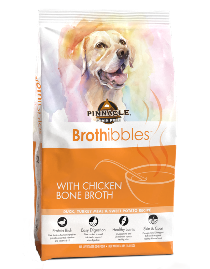 Pinnacle by Breeder's Choice Pinnacle Dog Dry Brothibbles Duck, Turkey, and Sweet Potato