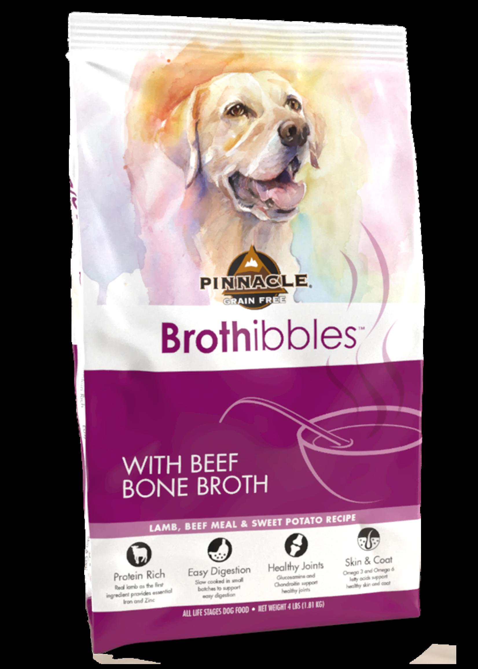 Pinnacle by Breeder's Choice Pinnacle Dog Dry Brothibbles Lamb, Beef, and Sweet Potato