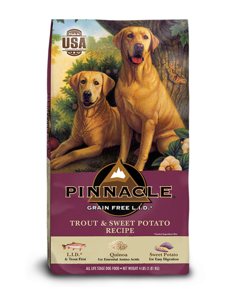 Pinnacle by Breeder's Choice Pinnacle Dog Dry GF Trout and Sweet Potato
