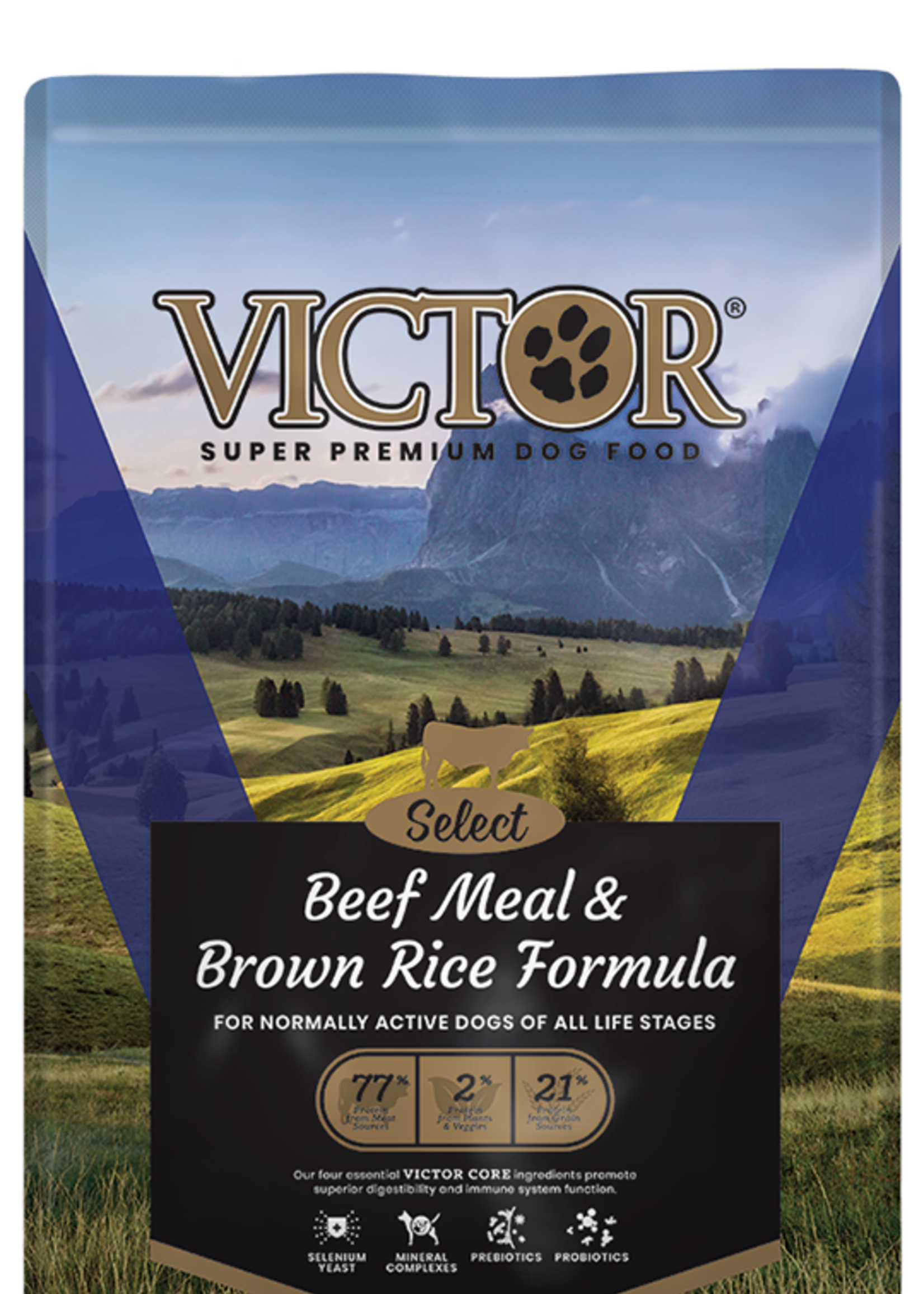 Victor/Mid America Pet Victor Dog Dry Select Beef and Rice