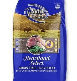 NutriSource NutriSource Dog Dry Grain Free Heartland