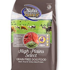 NutriSource NutriSource Dog Dry Grain Free High Plains
