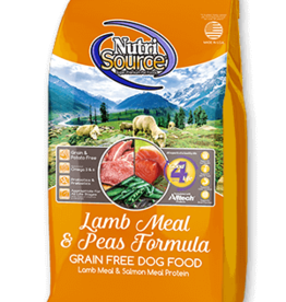 NutriSource NutriSource Dog Dry Grain Free Lamb and Peas