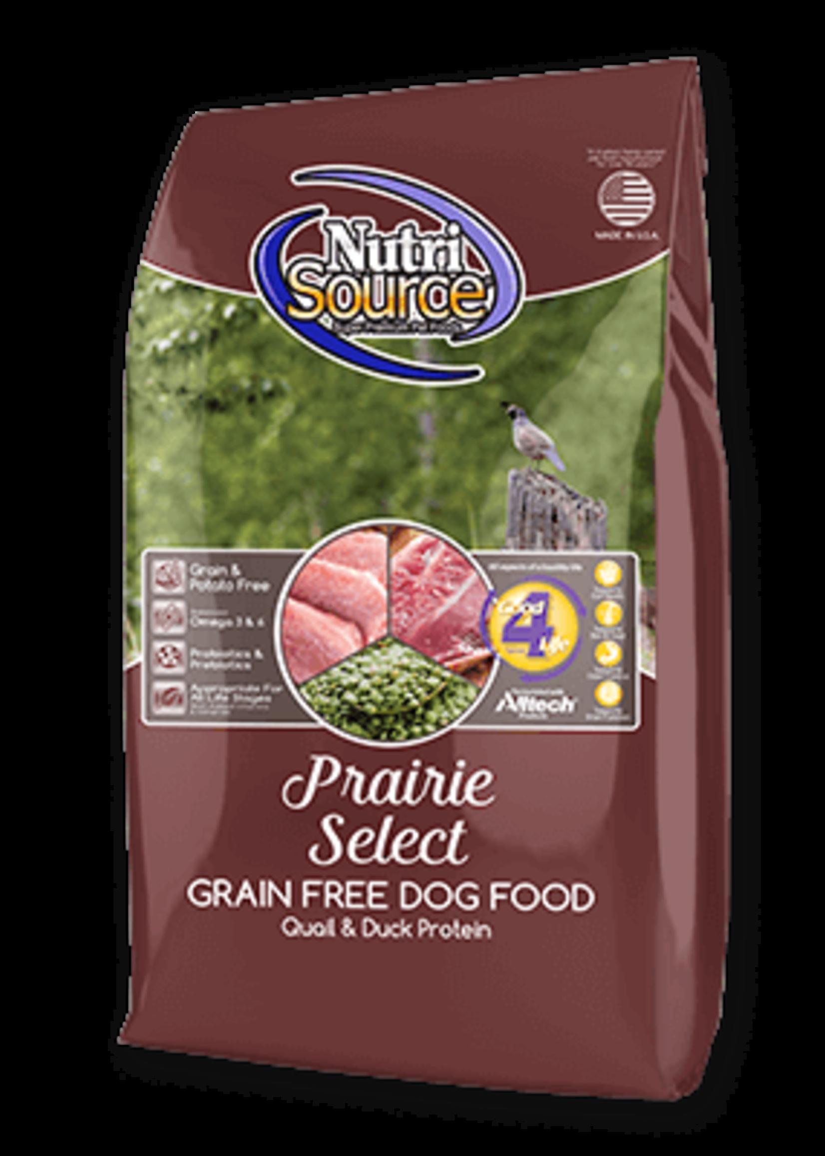 NutriSource NutriSource Dog Dry Grain Free Prairie
