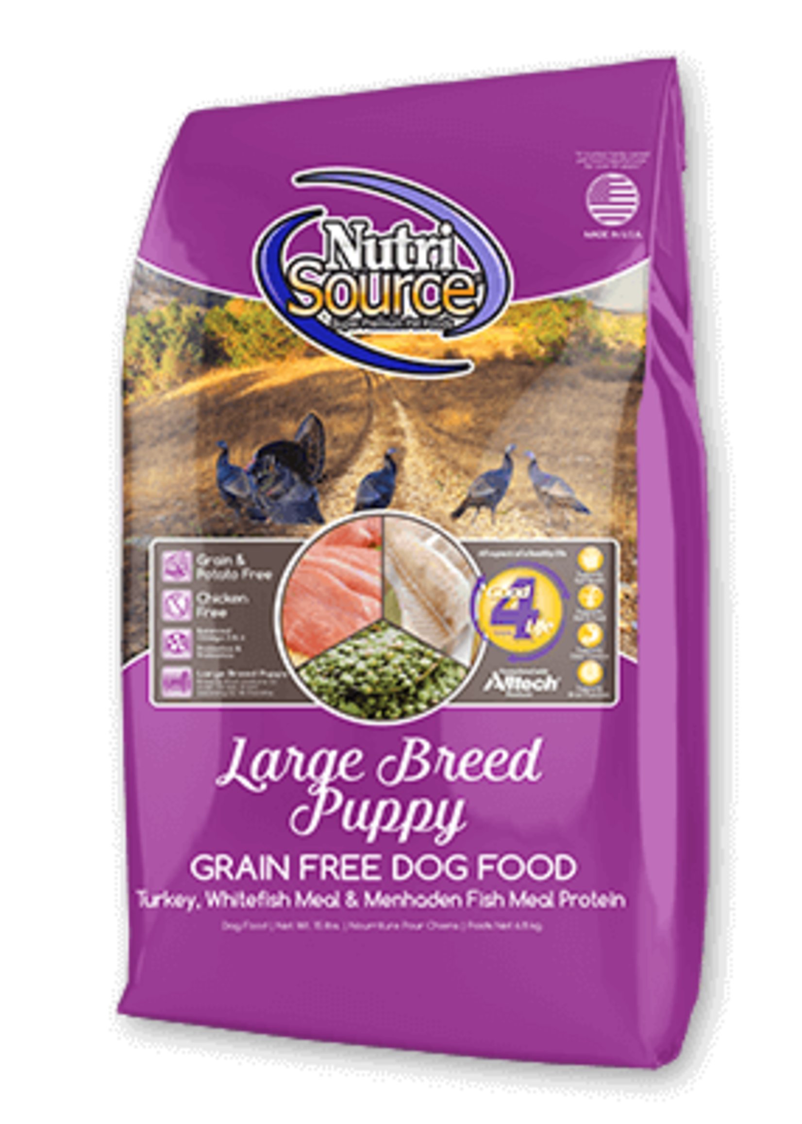 NutriSource NutriSource Dog Dry Grain Free Puppy Large Breed