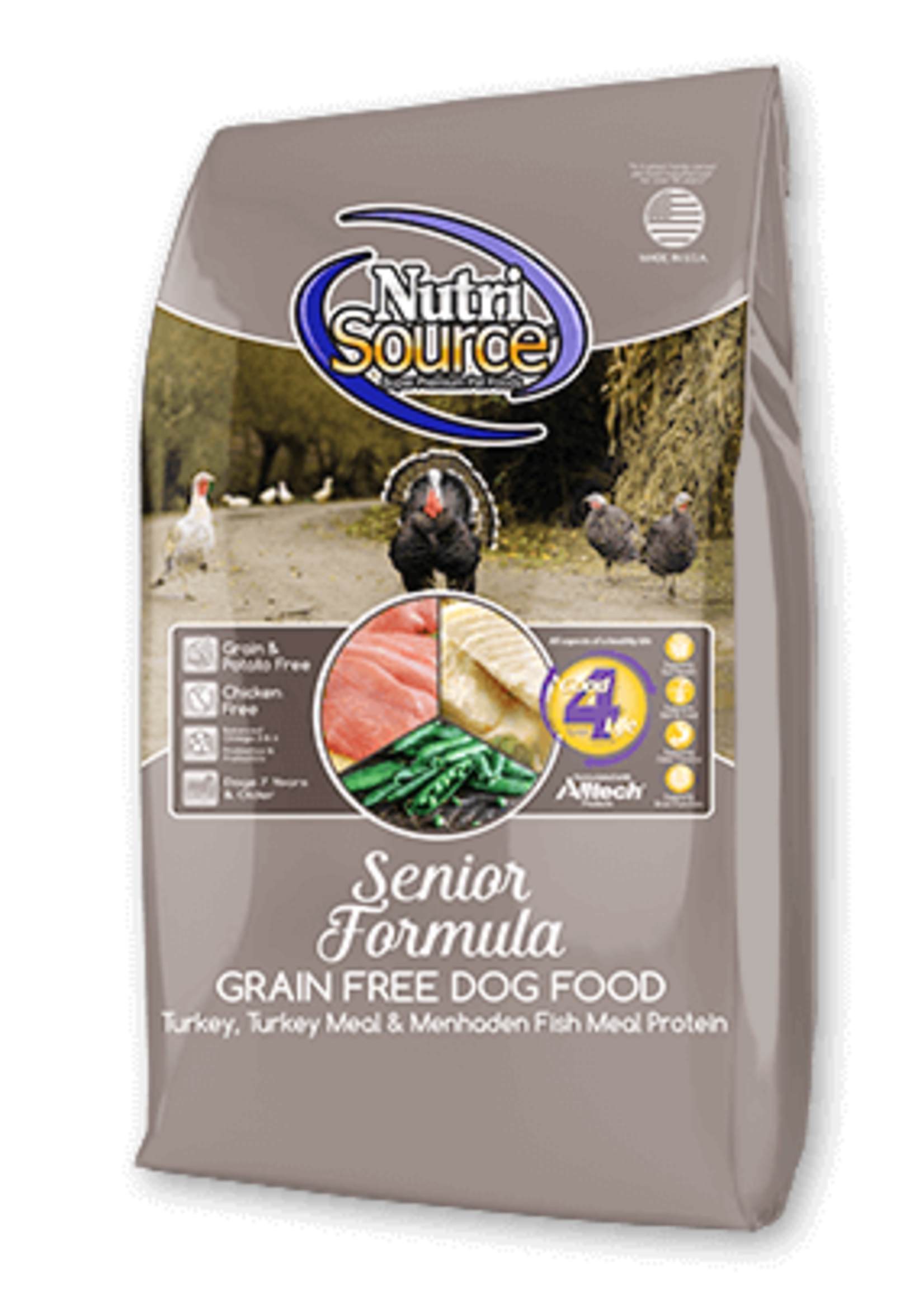NutriSource NutriSource Dog Dry Grain Free Senior