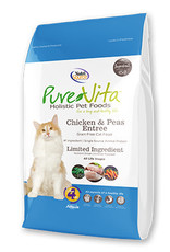 PureVita PureVita Cat Dry Chicken and Peas