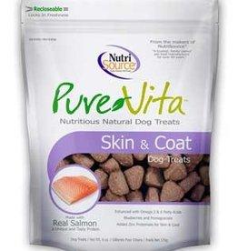 PureVita PureVita Dog Treat Skin and Coat 6 oz