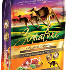 Pet's Global Inc./Zignature Zignature Dog Dry Kangaroo Small Bites