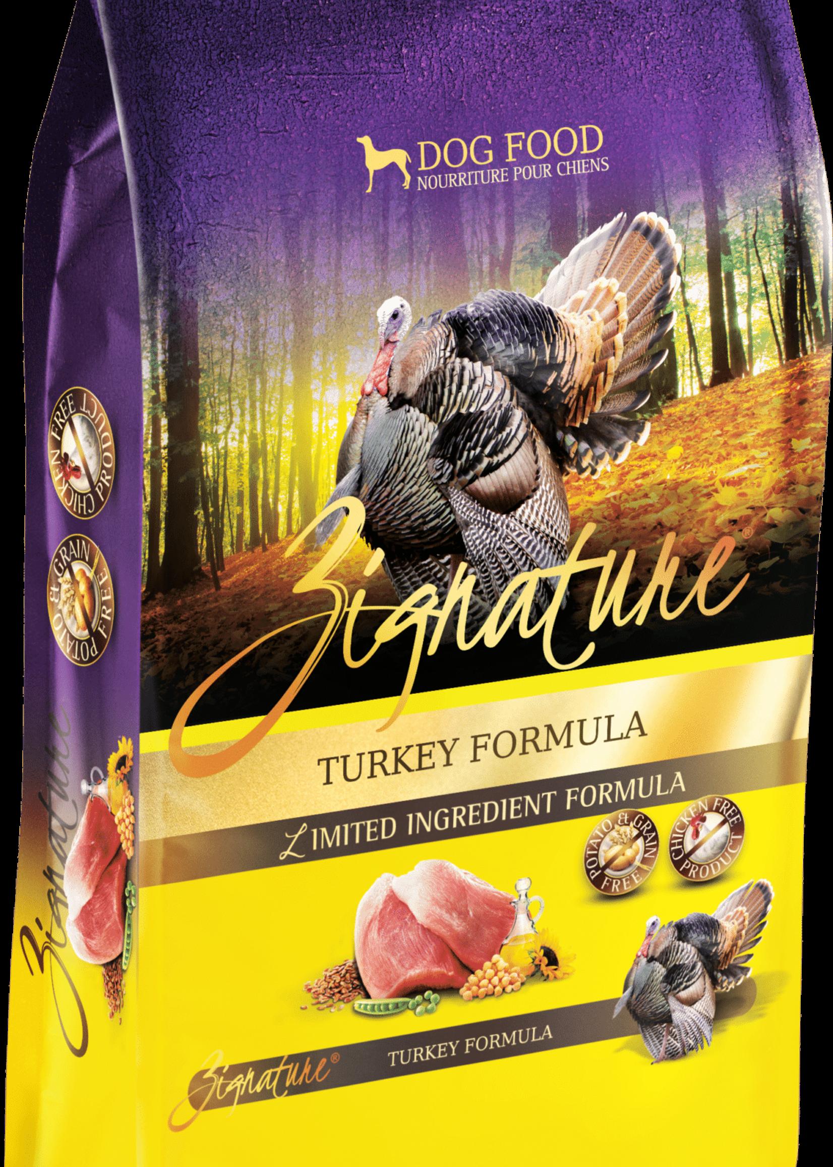 Zignature Zignature Dog Dry Turkey