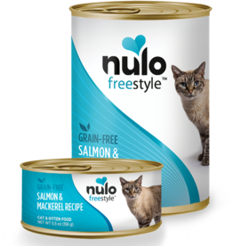 Nulo Nulo Freestyle Cat Can Salmon and Mackerel