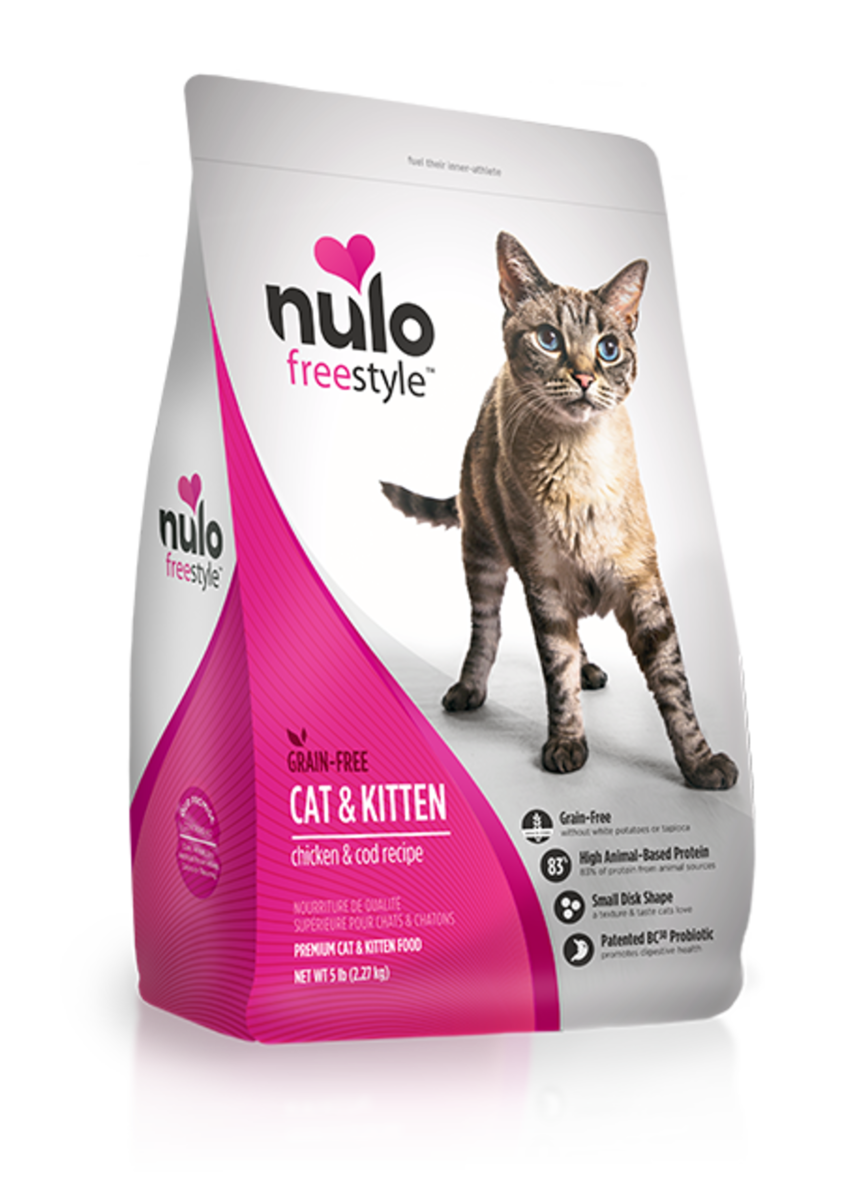 Nulo Nulo Freestyle Cat Dry Chicken and Cod
