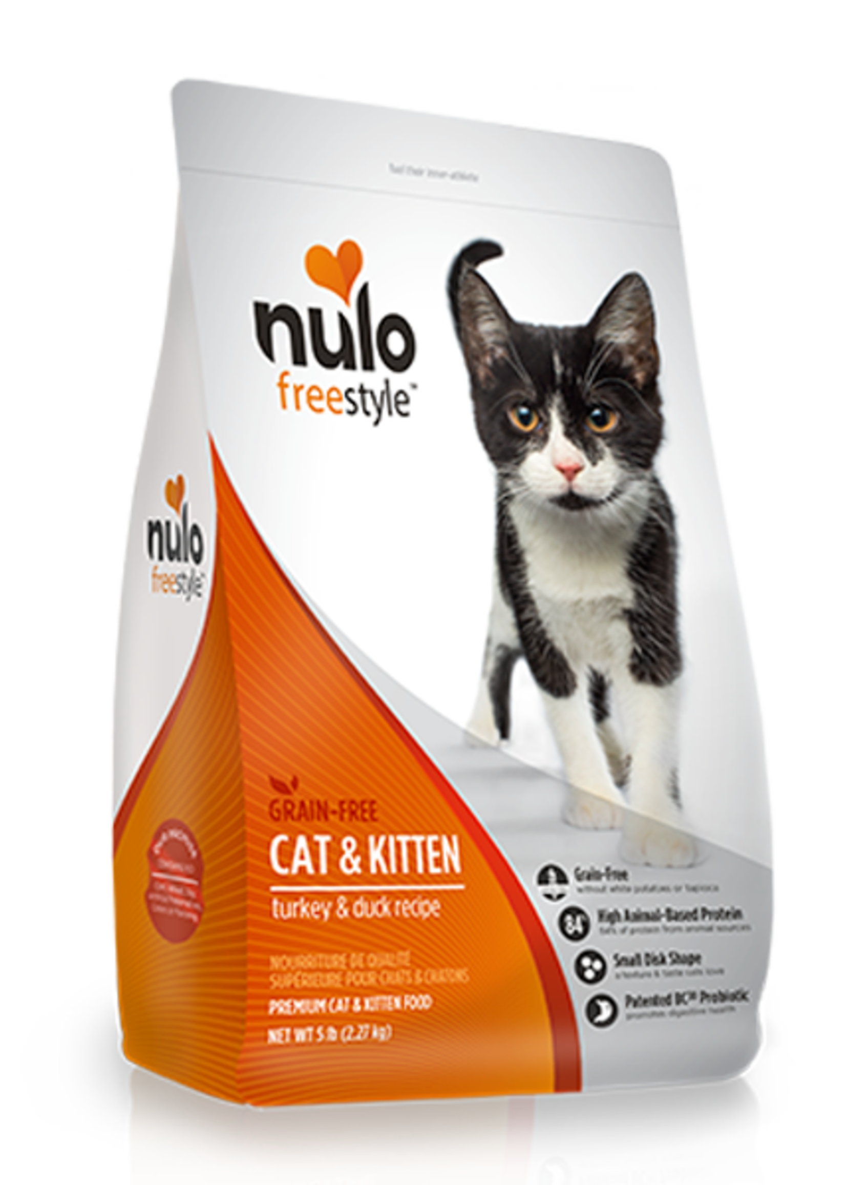 Nulo Nulo Freestyle Cat Dry Turkey and Duck