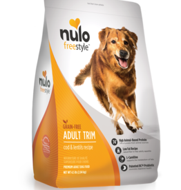 Nulo Nulo Freestyle Dog Dry Trim Cod and Lentils