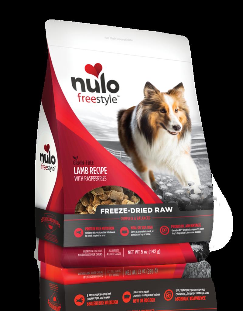 Nulo Nulo Freestyle Dog Treat Freeze-Dried Raw Lamb