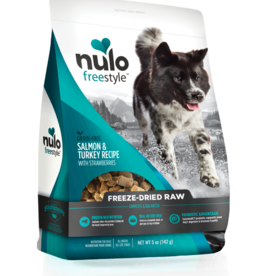 Nulo Nulo Freestyle Dog Treat Freeze-Dried Raw Salmon and Turkey
