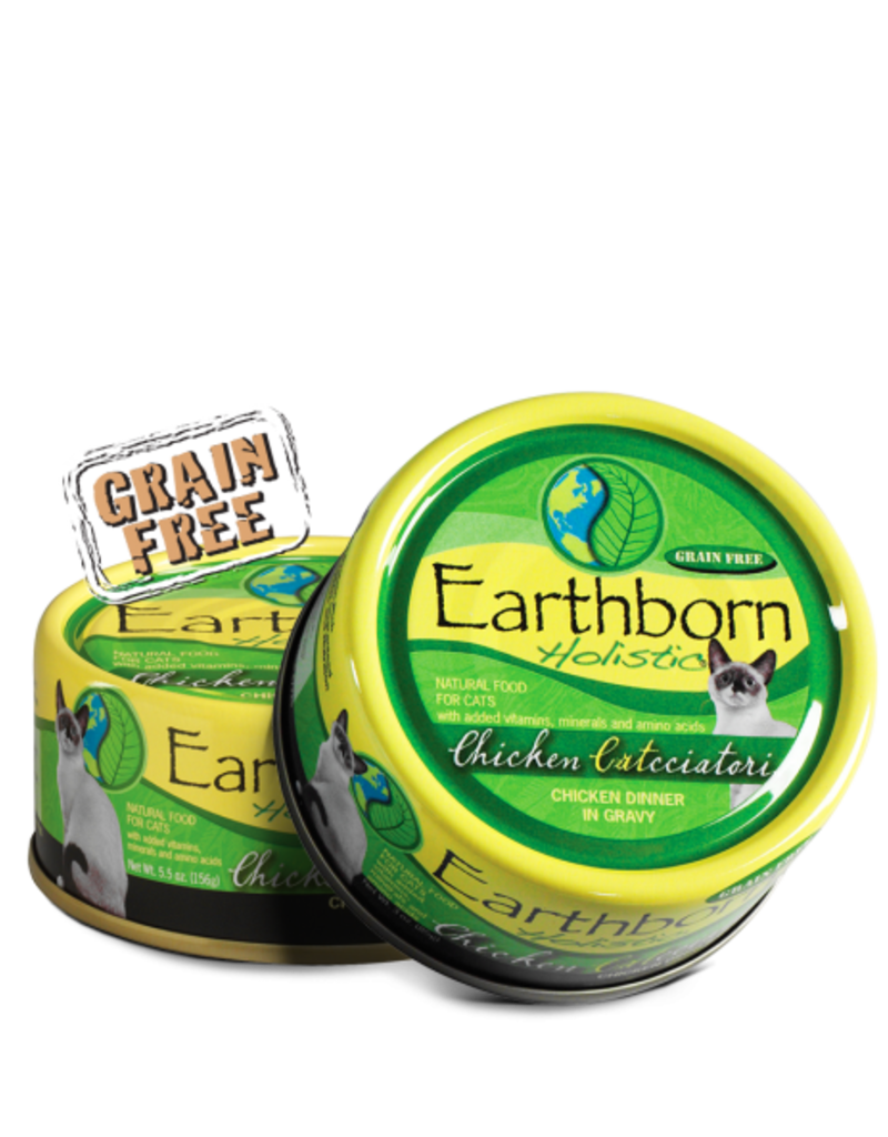 Earthborn by Midwestern Pet Earthborn Cat Can Holistic Chicken Catcciatori