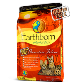 Earthborn by Midwestern Pet Earthborn Cat Dry Holistic Primitive Feline
