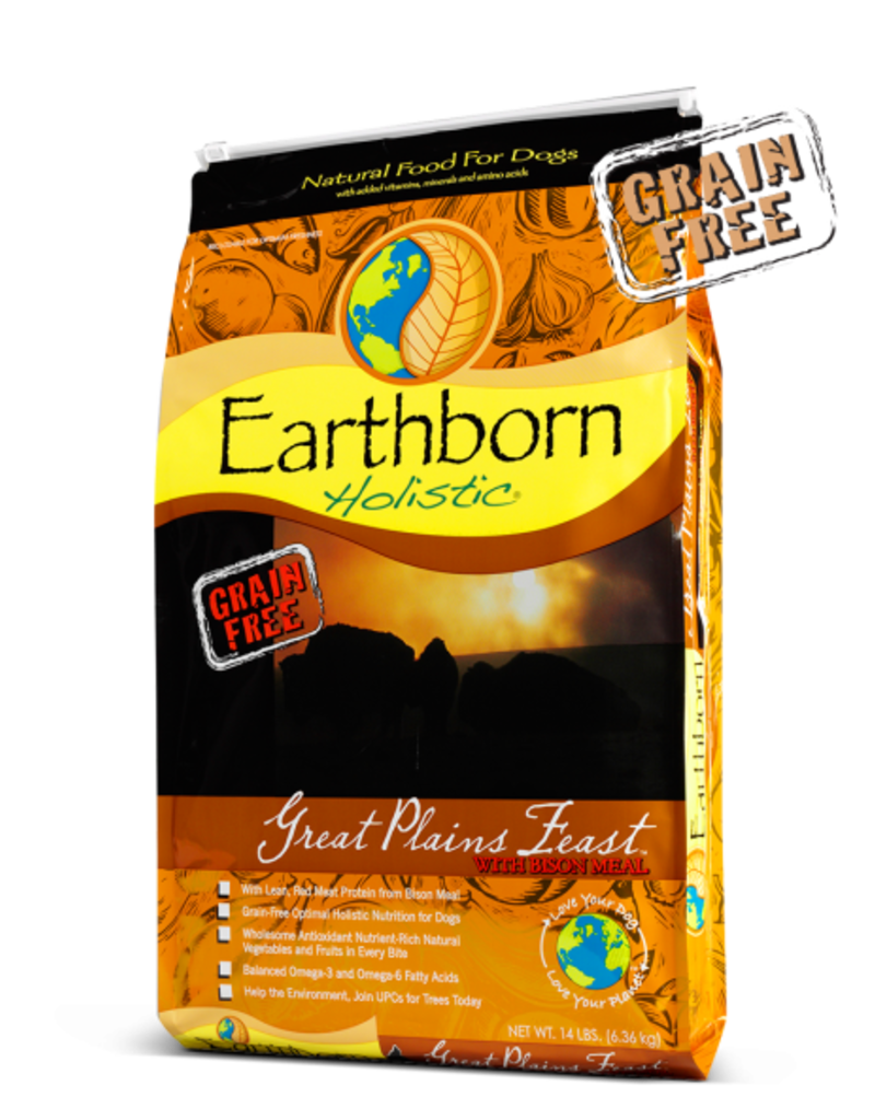 Earthborn by Midwestern Pet Earthborn Dog Dry Holistic Great Plains Feast