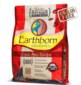 Earthborn by Midwestern Pet Earthborn Dog Treat Oven-Baked Bison