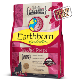 Earthborn by Midwestern Pet Earthborn Dog Treat Oven-Baked Lamb