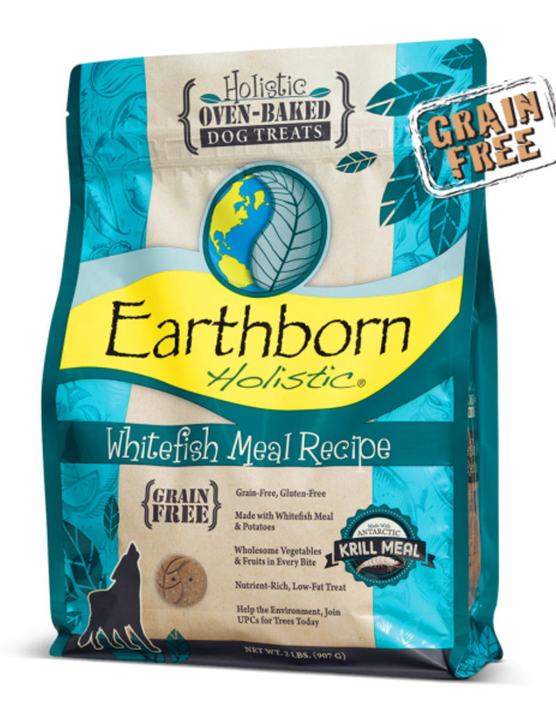 Earthborn by Midwestern Pet Earthborn Dog Treat Oven-Baked Whitefish