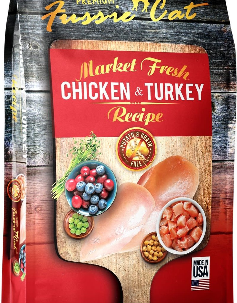 Fussie Cat Fussie Cat Dry Market Fresh Chicken and Turkey