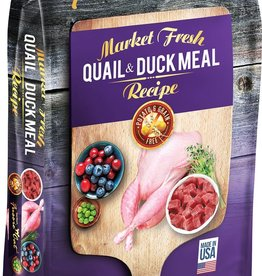 Fussie Cat Fussie Cat Dry Market Fresh Quail and Duck