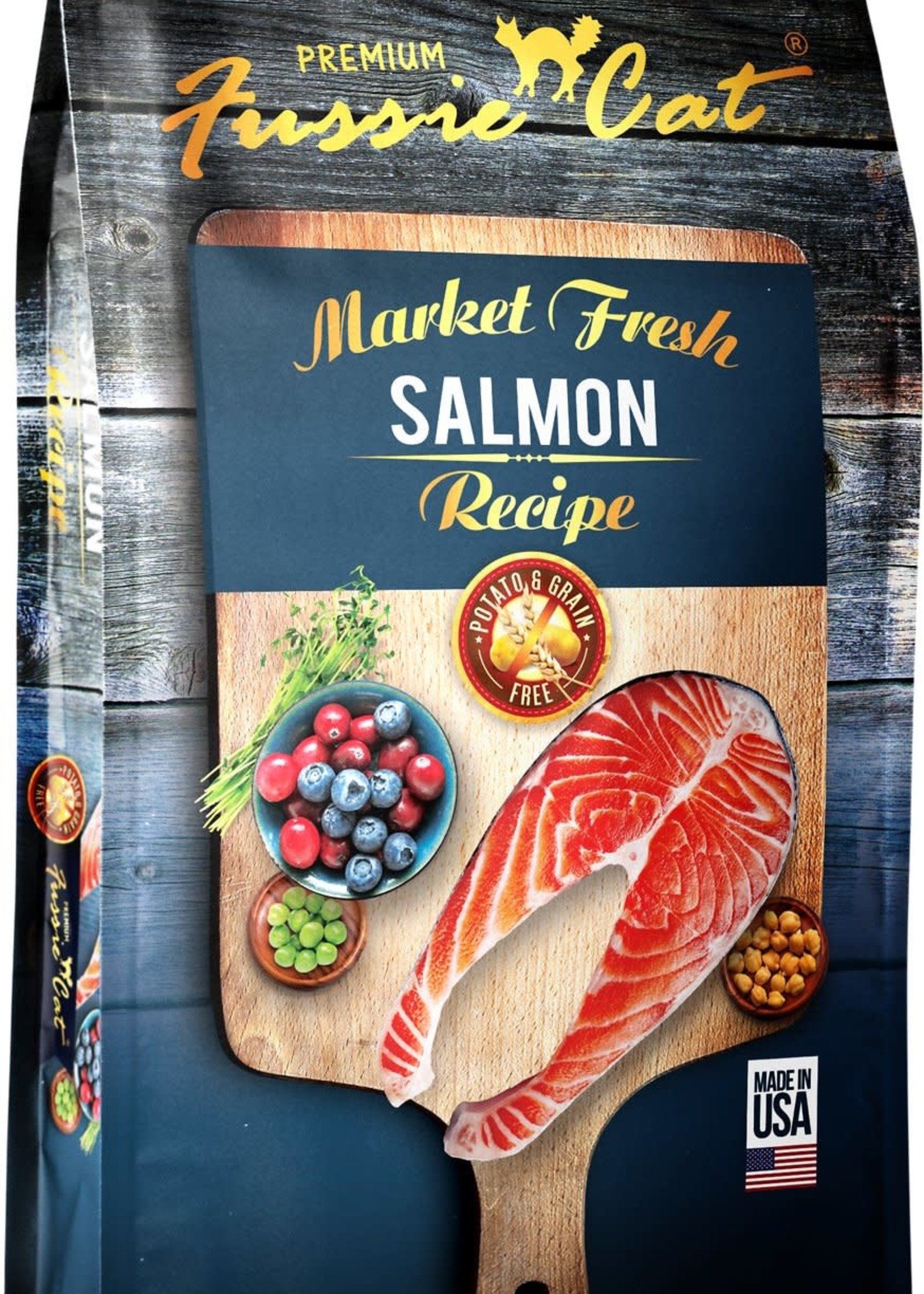 Fussie Cat Fussie Cat Dry Market Fresh Salmon