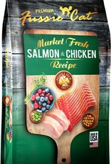 Fussie Cat Fussie Cat Dry Market Fresh Salmon and Chicken