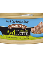 AvoDerm by Breeder's Choice AvoDerm Cat Can Tuna and Crab