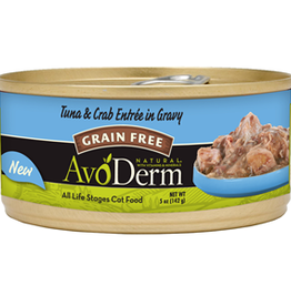 Breeder's Choice Pet Foods, Inc. AvoDerm Cat Can Tuna and Crab