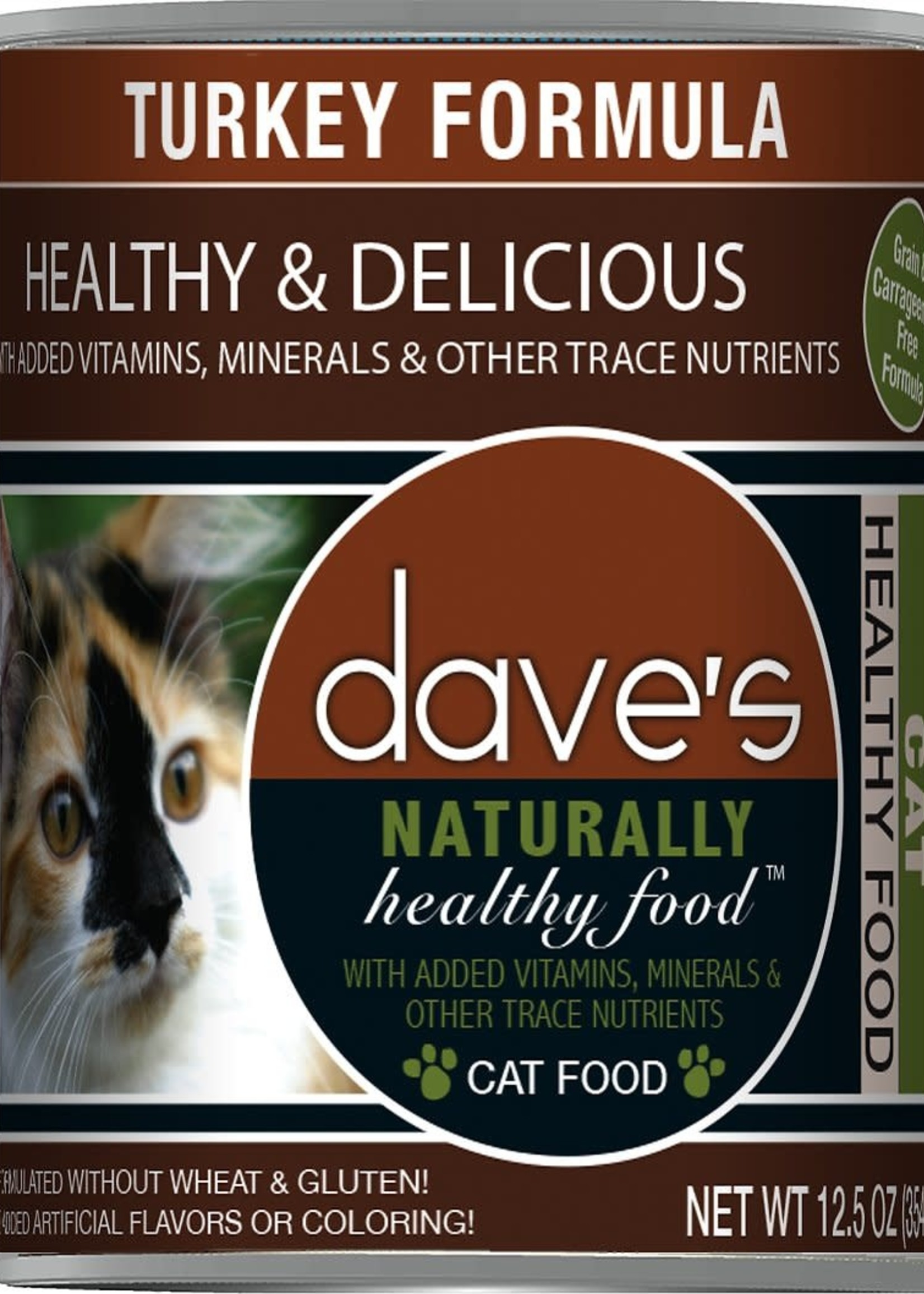 Dave's Pet Food Dave's Cat Can Naturally Healthy Turkey