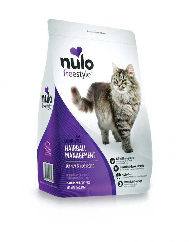 Nulo Nulo Freestyle Cat Dry Hairball Management Turkey and Cod