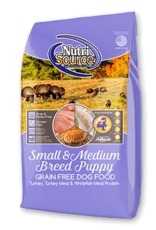 NutriSource NutriSource Dog Dry Grain Free Puppy Small Bites