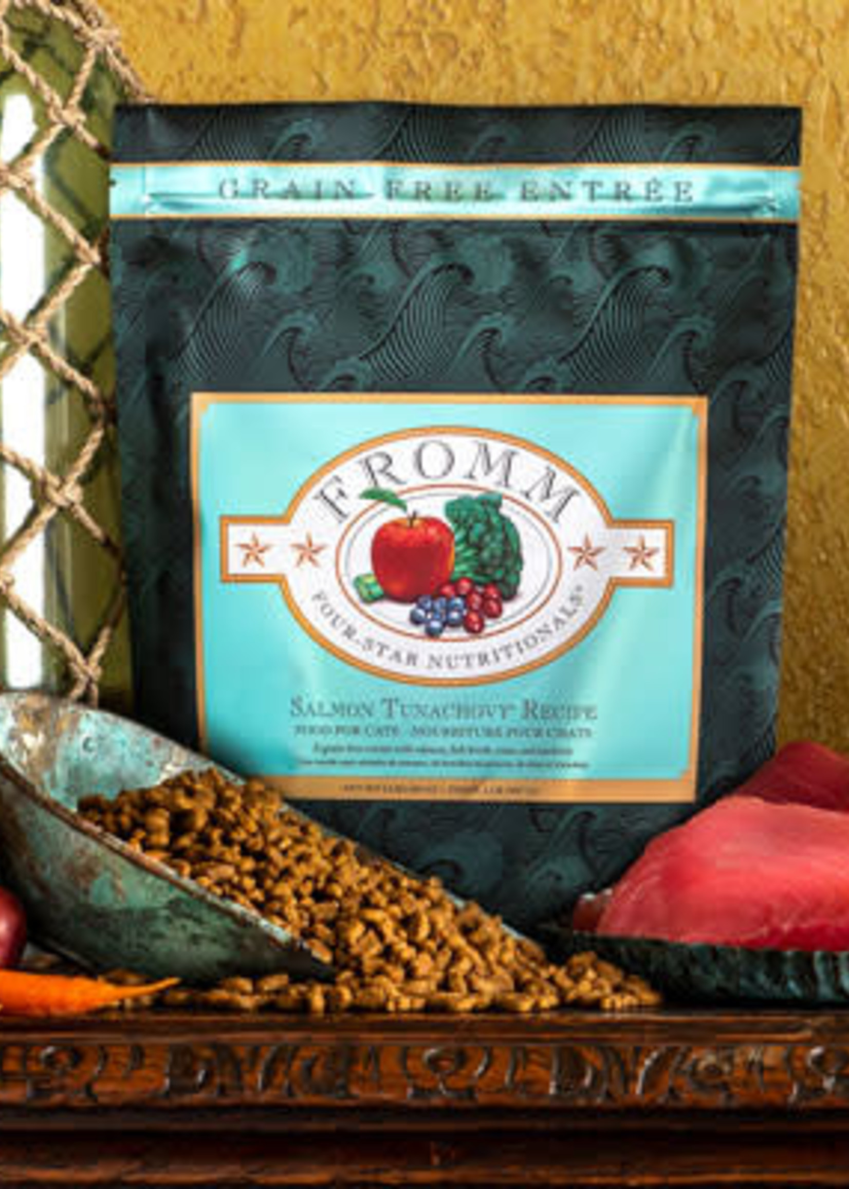 Fromm Family Foods, LLC Fromm Cat Dry 4 Star GF Salmon Tunachovy