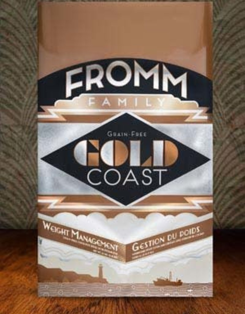 Fromm Family Foods, LLC Fromm Dog Dry Gold Coast Weight Management