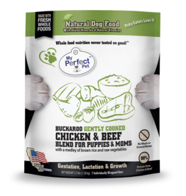 My Perfect Pet My Perfect Pet Dog Buckaroo's Puppy Chicken and Beef 3.5 lbs