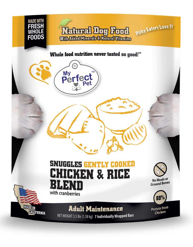 My Perfect Pet My Perfect Pet Dog Snuggle's Chicken and Rice 3.5 lbs