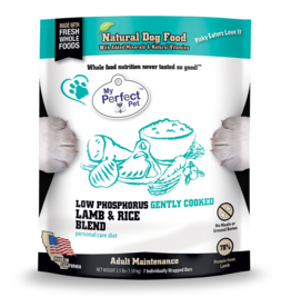 My Perfect Pet My Perfect Pet Dog Low Phosphorus Lamb 3.5 lbs