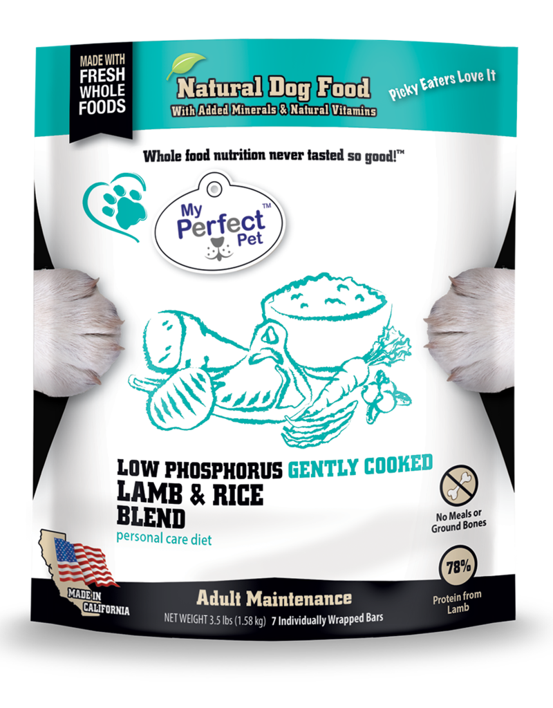 My Perfect Pet My Perfect Pet Dog Low Phosphorus Lamb 3.5 lbs