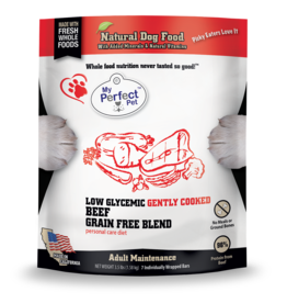 My Perfect Pet My Perfect Pet Dog Low Glycemic Beef 3.5 lbs