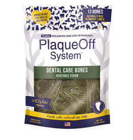 Plaque Off by Swedencareusa Plaque Off Dog Dental Bones Vegetable Fusion 17 oz