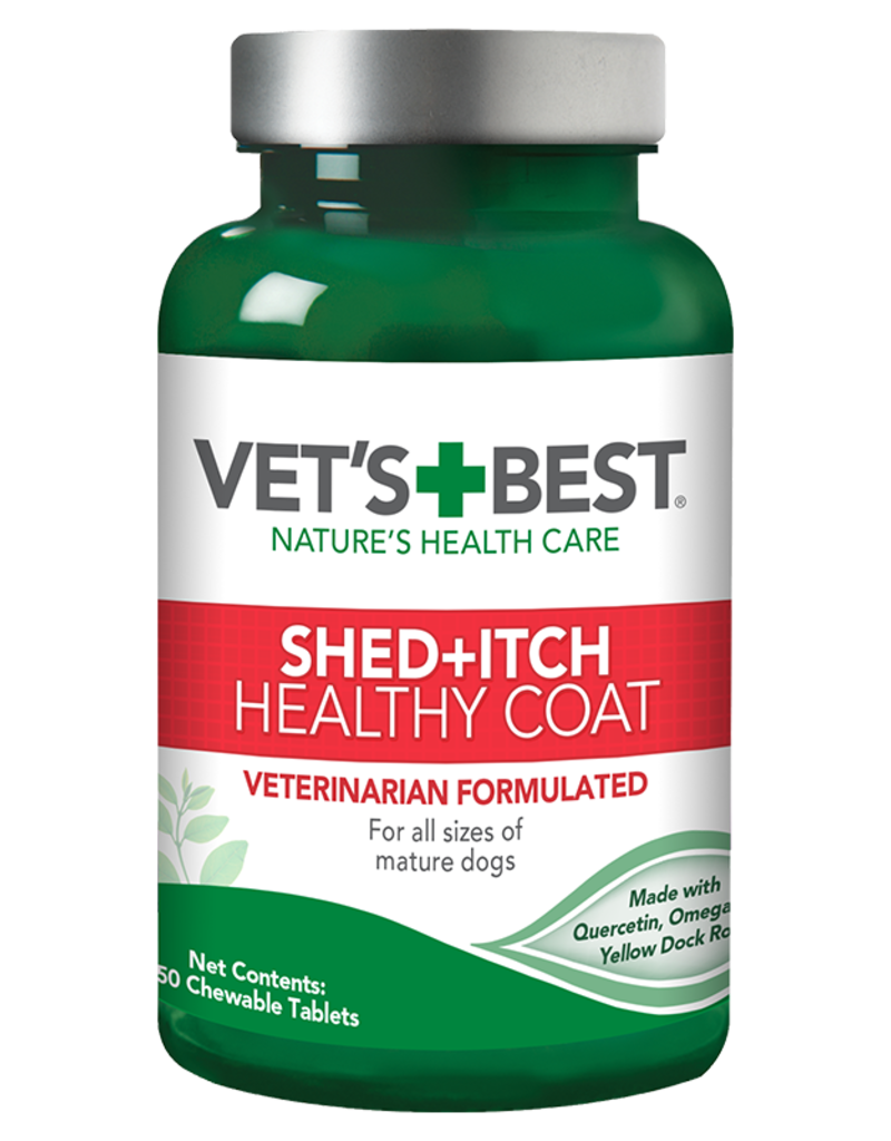 Vet's Best Vet's Best Dog Remedy Shed and Itch Healthy Coat 50 ct