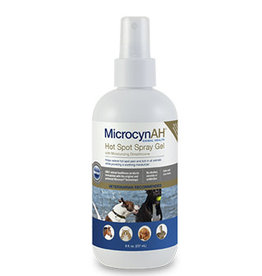 Sonoma Pharmaceuticals MicrocynAH Cat/Dog Hot Spot Spray Gel 8 oz