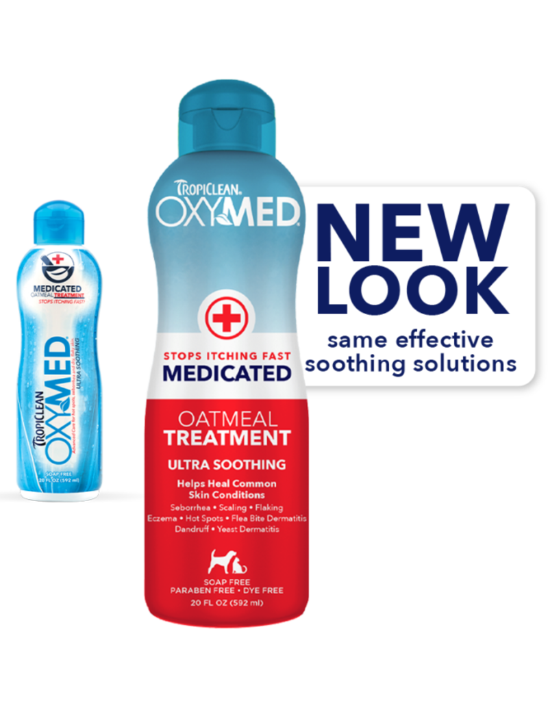 Tropiclean Manufacturing TropiClean Cat/Dog OxyMed Oatmeal Treatment 20 oz