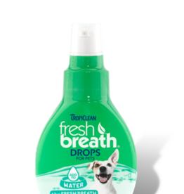 Tropiclean Manufacturing TropiClean Dog Fresh Breath Drops 2.2 oz
