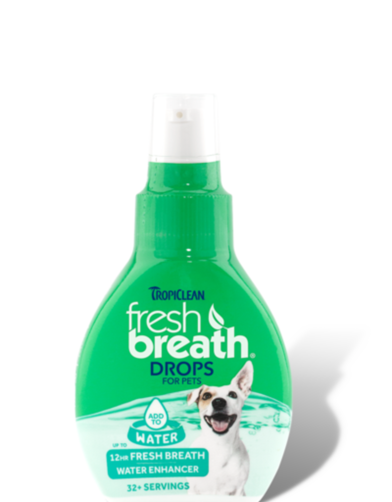 Tropiclean Manufacturing TropiClean Dog Fresh Breath Drops 2.2 oz
