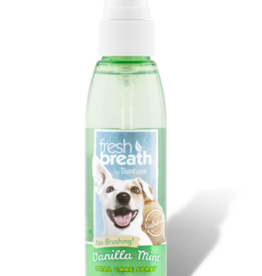 Tropiclean Manufacturing TropiClean Dog Fresh Breath Oral Spray Vanilla Mint 4 oz