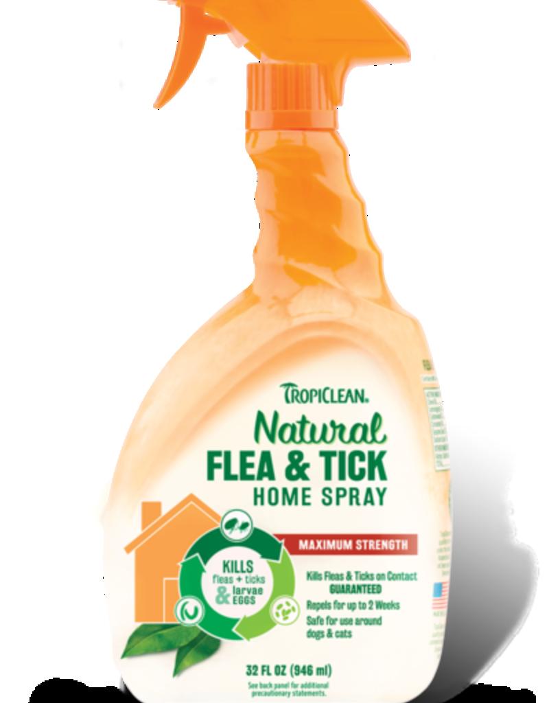 Tropiclean Manufacturing TropiClean Home Flea and Tick Home Spray 32 oz